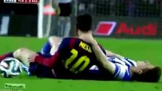 ليو ميسى مات فى الماتش Lionel Messi died in match
