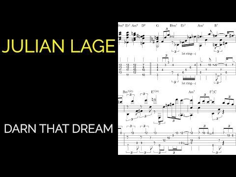 Julian Lage - Darn That Dream (Live) Guitar Transcription