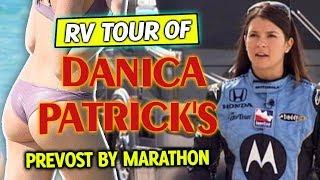 RV Tour Of Danica Patrick's Prevost By Marathon For Sale