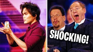 Top 10 Magicians That Fooled Penn and Teller