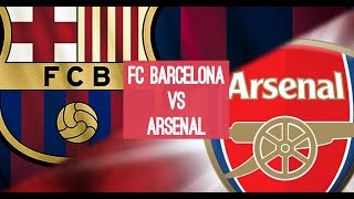 Игра Футбол ФК Барселона Испания Арсенал Лондон Англия FIFA19