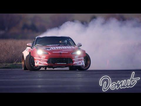 Ryan Tuerck Formula Drift Test Session | Donut Media