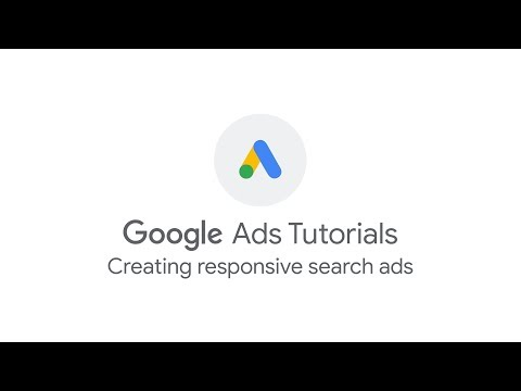 Creating responsive search ads