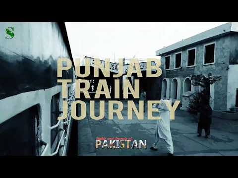 My Train Journey Through the Heart of Punjab - Pakistan | 4K