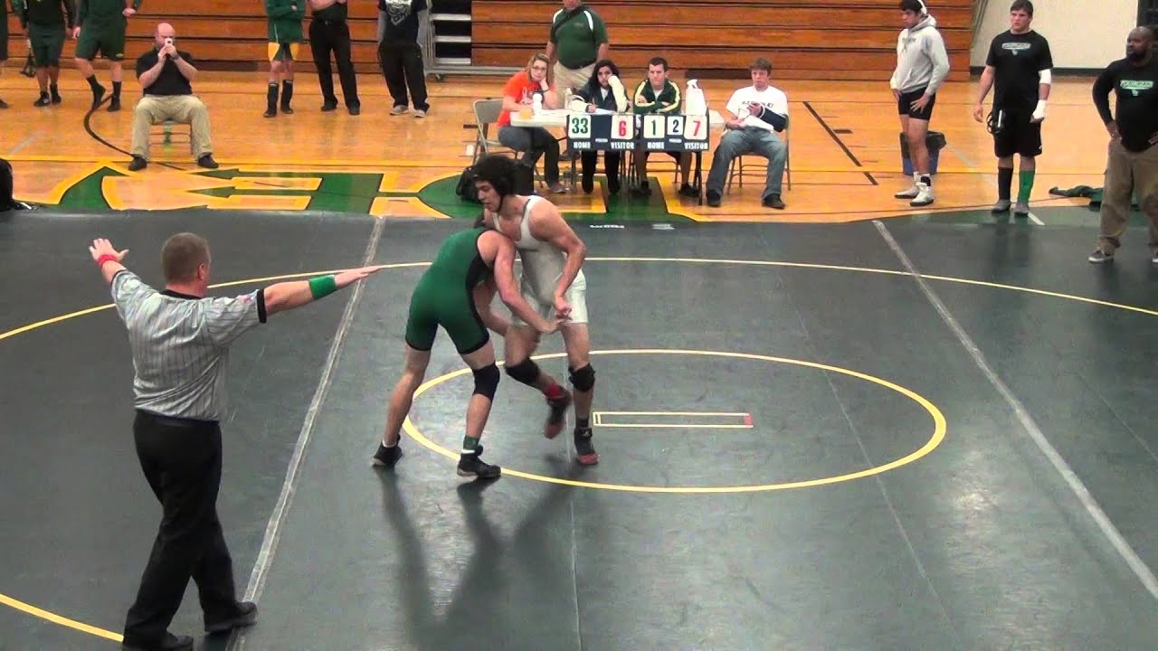 wrestling match youngker high school - YouTube