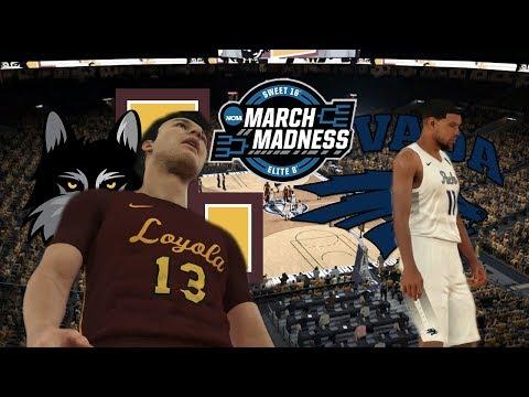 2018 NCAA Tournament Sweet Sixteen: 11 Loyola Chicago vs 7 Nevada: NBA 2K18 College Rosters