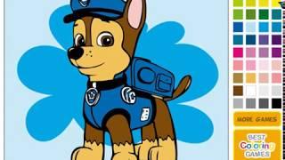 Щенячий патруль: Рисовать Гонщика (Paw Patrol Coloring Chase)