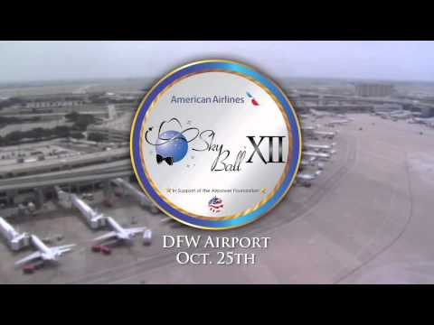 Sky Ball XII PSA wGary Sinise Armed Forces Insurance