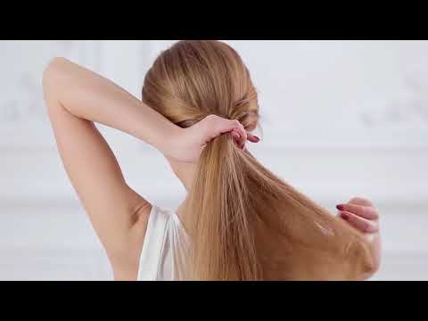 How to Create A Chic Low Fishtail Pony for Medium Long Hair