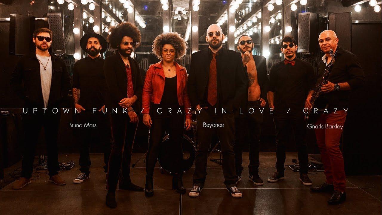 Uptown Funk / Crazy in Love / Crazy (Akorde - FUNKERIA)