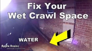 Very Complete How to Waterproof Your Crawl Space