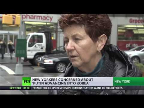 "Maxine Waters: ""Putin is advancing into Korea"""