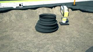 Wavin ревизионный колодец Tegra 100(Инспекционные пластиковые колодцы Wavin Tegra 1000 - полная замена бетонным колодцам., 2017-02-28T15:23:09.000Z)