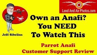 Parrot ANAFI drone films Burnt down Church ruins - CAPTAIN DRONE