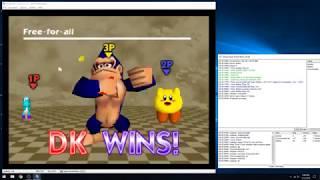 Super Smash Bros. Justase Vs. Cory Vs. Robbie (N64 kaillera netplay) #4