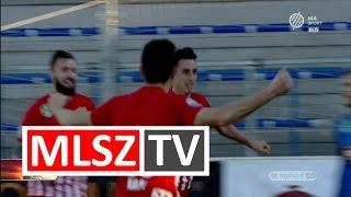 Fülöp István gólja a DVTK - MTK Budapest mérkőzésen
