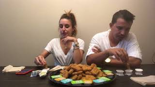 100 CHICKEN NUGGET CHALLENGE! OMG I Almost Throw Up