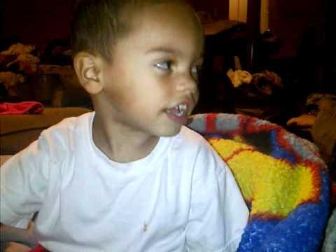 Baby Brother Singing Choppa Down - French Montana