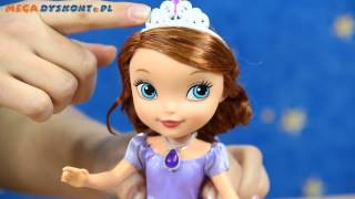 Sofia The First Scale Fashion Doll / Lalka Ksiezniczka Zosia / 26 cm / - Jej Wysokość Zosia - Mattel