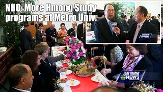 SUAB HMONG NEWS:  NHO calling for more Hmong study programs at Metropolitan Univerisity