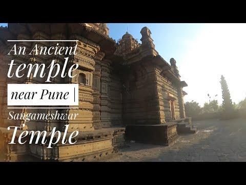 An ancient temple near Pune!!   Sangameshwar Temple