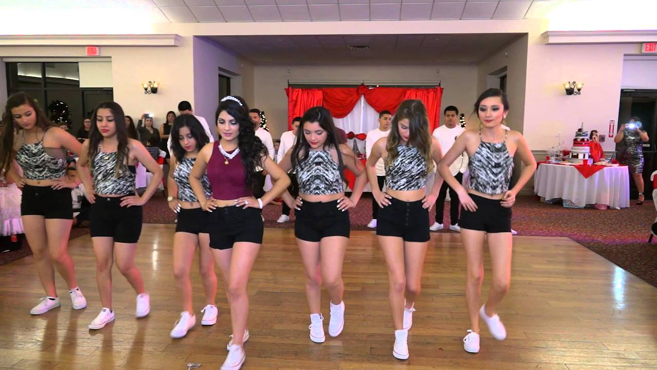 Quinceanera Surprise Dance Outfits 2013
