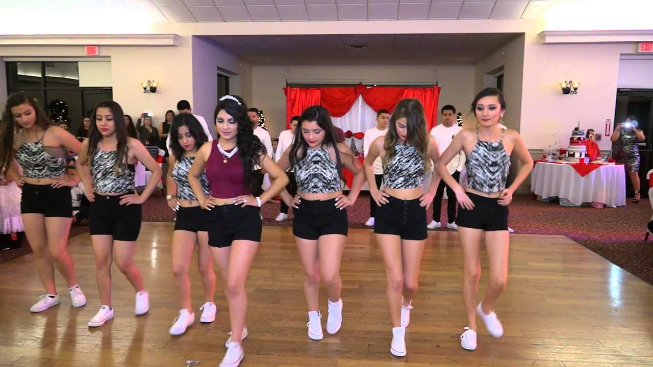 Coreografia de la Quinceau00f1era Tania ( baile sorpresa) - YouTube