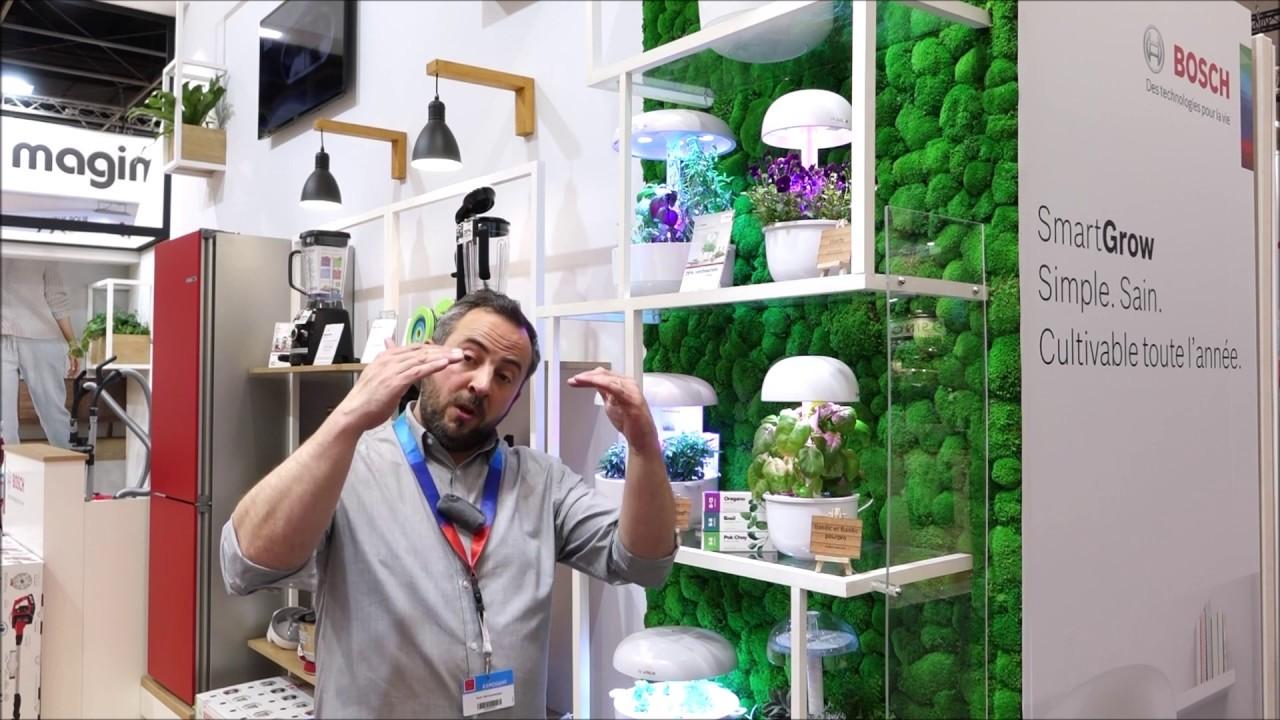 Herbes Aromatiques D Intérieur bosch : thomas bouvier, smartgrow le jardin d'intérieur intelligent pour  herbes aromatiques