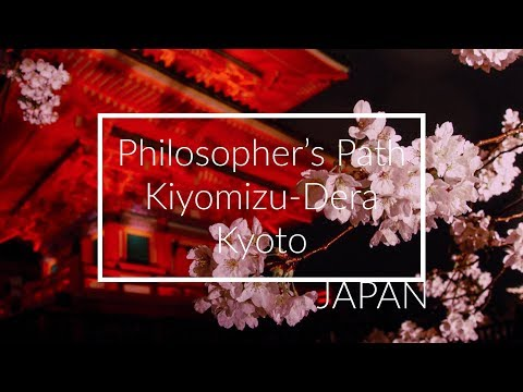 Kyoto Japan Travel & Tips - Philosopher's Path, Kiyomizu-Dera & Sakura!