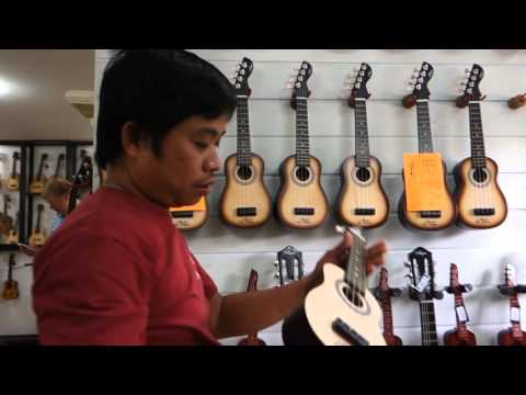 Alegre Guitar Shop Walkthrough - Mactan Cebu Philippines