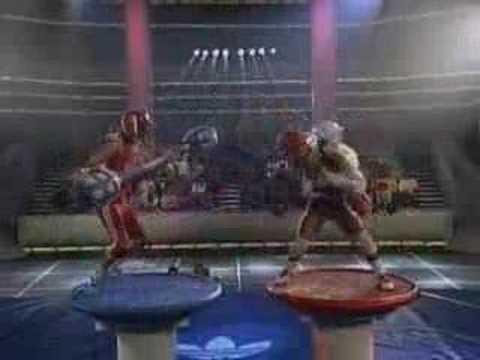 American Gladiators Joust Zap