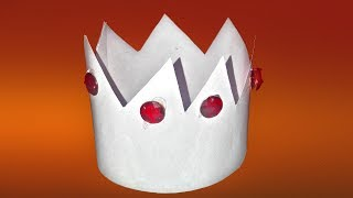 How to make a paper king