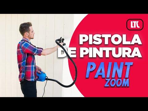 Pistola de pintura paint zoom youtube for Barnizado de muebles a pistola