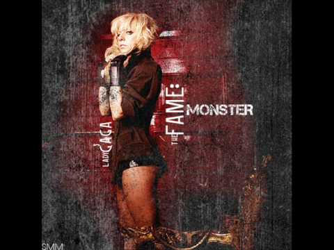 Lady Gaga - Monster - OFFICIAL The Fame Monster Version + Lyrics [HQ]