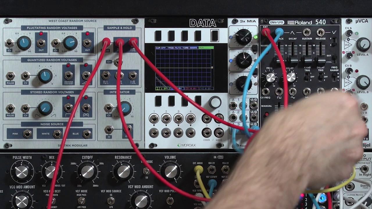 Sputnik West Coast Random Source: Sample & Hold + Switches (LMS ...