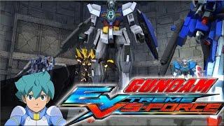 gundam extreme vs force walkthrough unknown mission 15   age 1 gundam gameplay hd