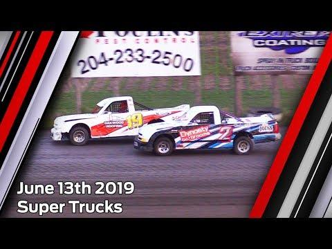 June 13th 2019, RRCS Super Trucks Heat & Feature