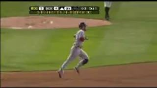 2008 Red Sox: Dustin Pedroia hits a three-run homer vs White Sox (8.8.08)