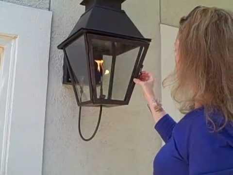 How To Light A Gas Lantern Www Gaslanternsandlights