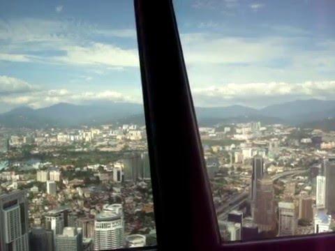 KL REVOLVING RESTAURANT KUALA LUMPU MALAYSIA SKY TOWER TELEKOMS BUILDING