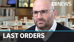 Former Masterchef judge George Calombaris's restaurant group goes into administration   ABC News