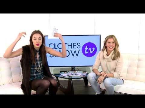 Emily Hartridge interviews Caggie Dunlop @ Clothes Show Live 2013 - Clothes Show TV