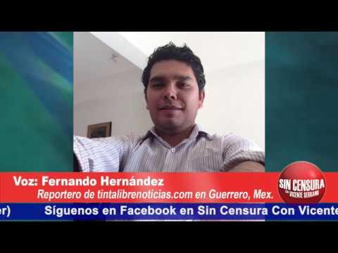 Guerrero demuestra un estado de derecho inexistente: Fernando Hernández