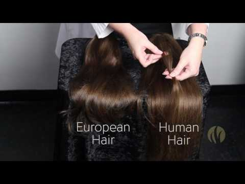 European Hair Wigs Vs Human Hair Wigs