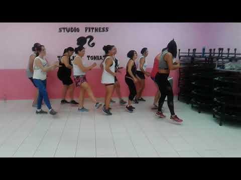 Malhadinha Bonde do Tigrão dance fitness coreografia