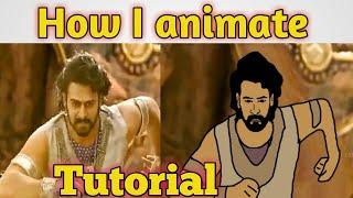 How I animate oฑ Flipaclip | HINDI | TUTORIAL video | || NikoLandNB