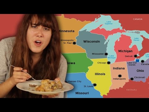 Americans Try Midwest Food For The First Time