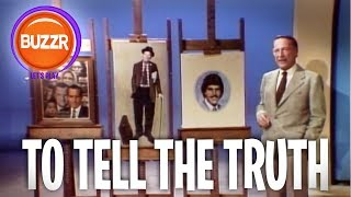 To Tell The Truth - PAINT A PICTURE FOR US! | BUZZR