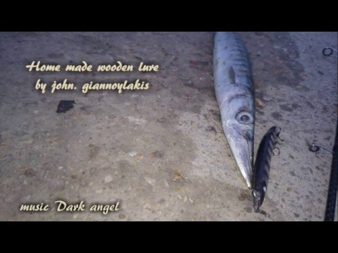 How to make a Fishing wooden lure