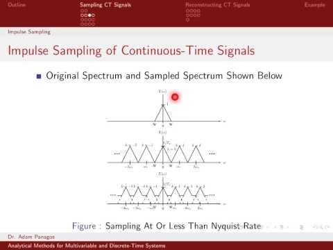 Sampling Signals (4/13) - Impulse Sampling